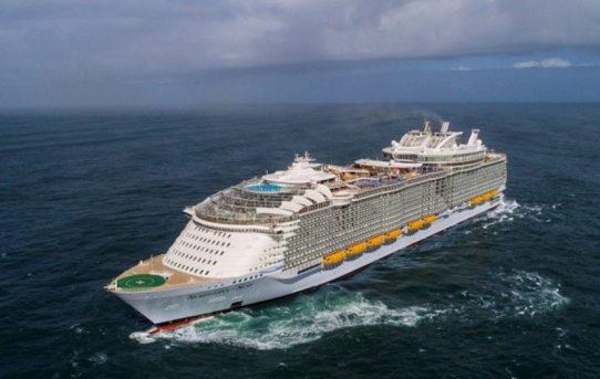 World's new largest cruise ship sets sail