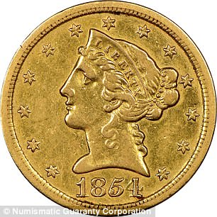 'Fake' coin from California Gold Rush is actually worth millions
