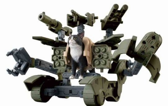 Bandai Releasing Line Of Weaponized Cat Action Figures