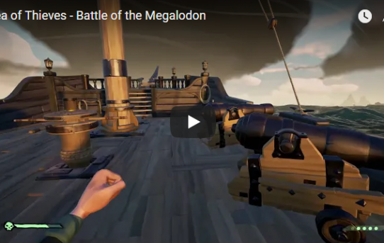 6/8 : Next Video: Sea of Thieves - Battle of the Megalodon