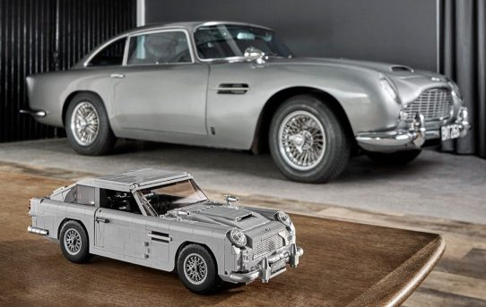 License to build? Lego introduces 'Goldfinger' James Bond 007 Aston Martin DB5