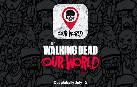 Walking Dead: Our World (ARG) game is out! yay