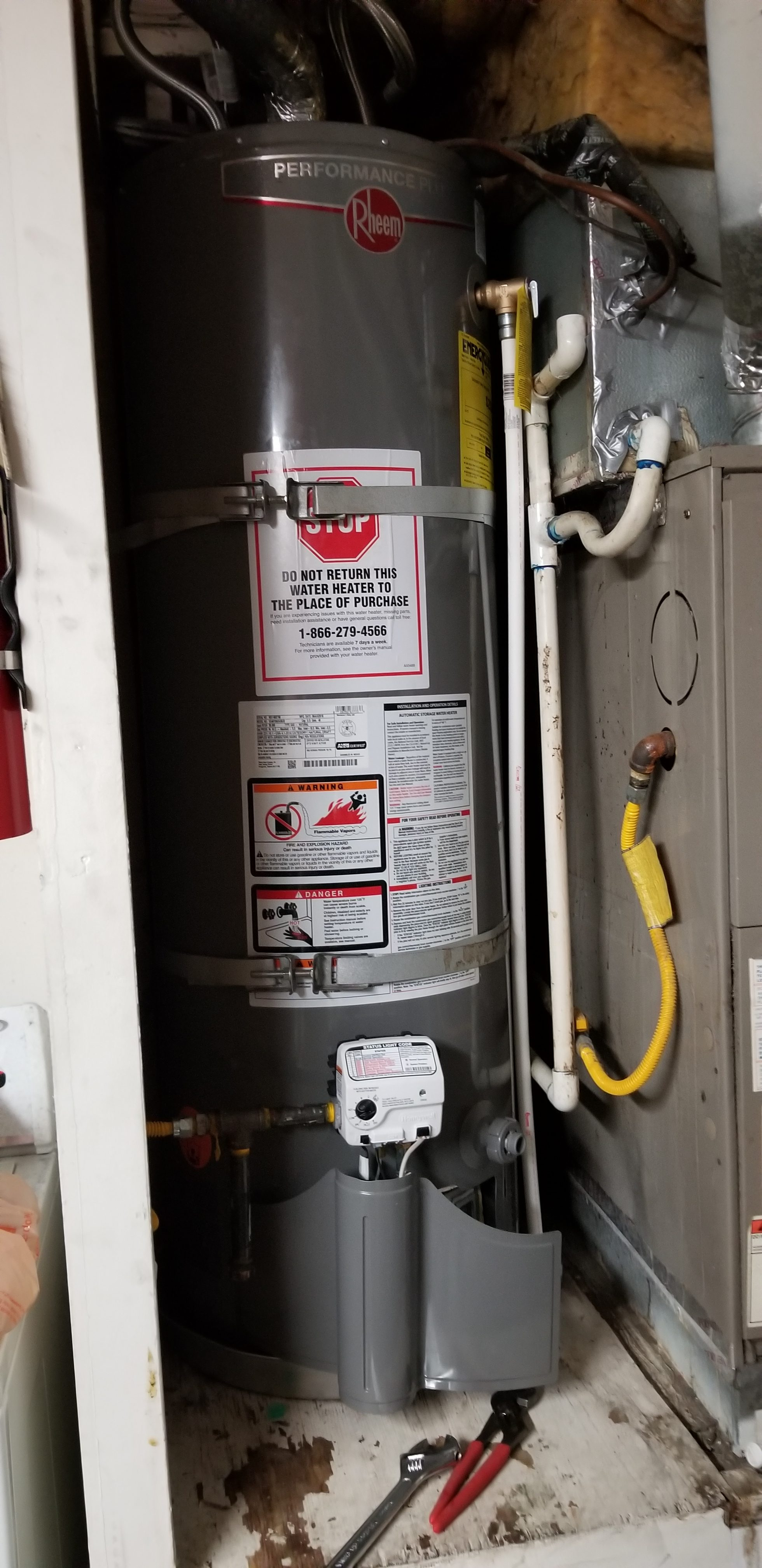 Rheem Performance Plus 40 Gal.