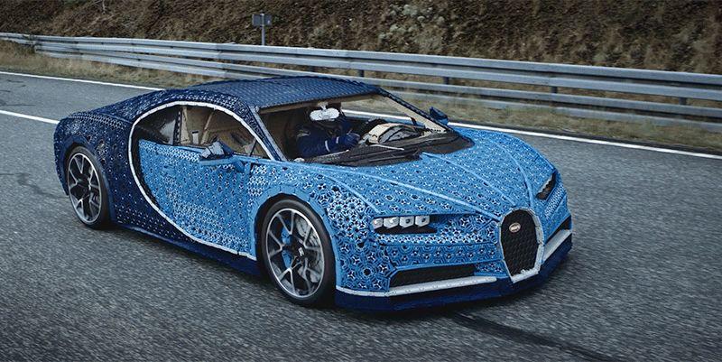 Drivable Lego Bugatti Chiron